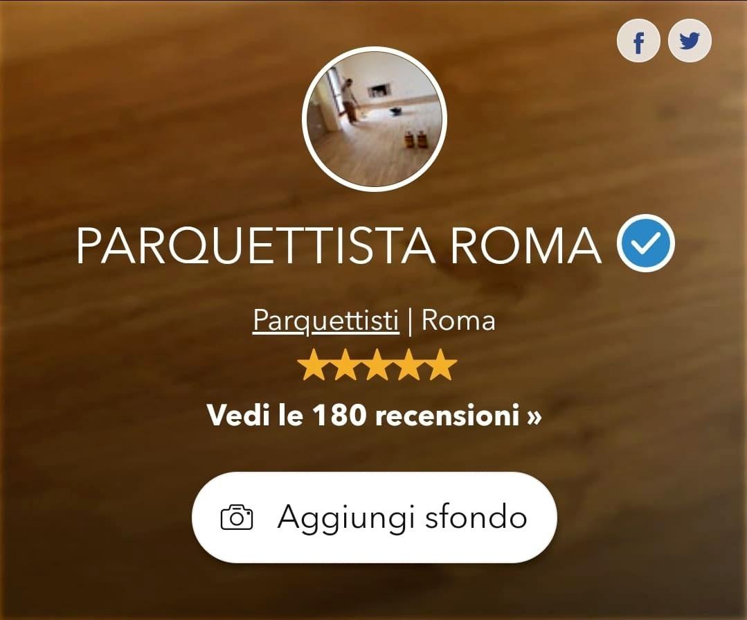 Parquettista Roma Testimonianze dei clienti